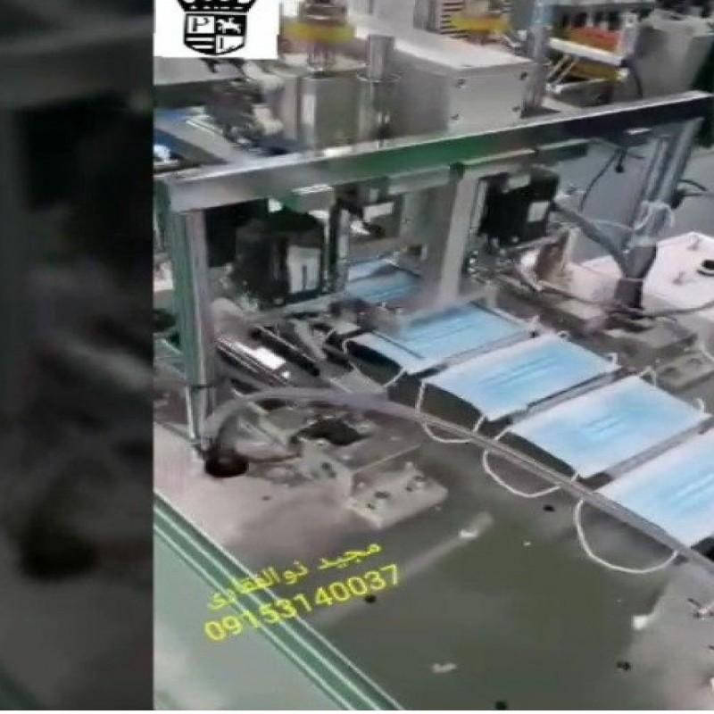 فروش دستگاه های خط تولید ماسک