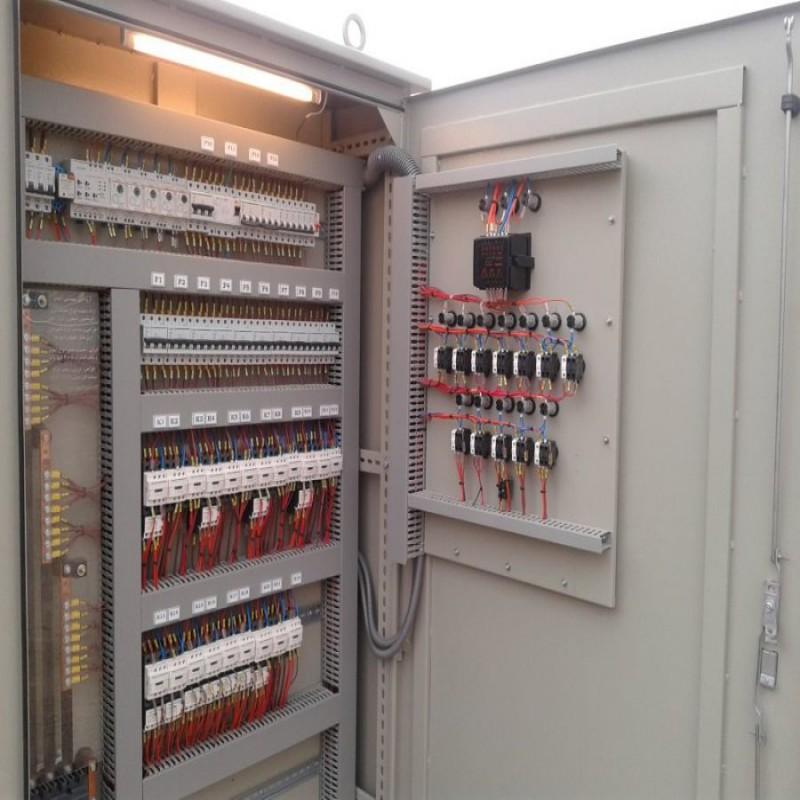 ملزومات تابلو برق و تجهیزات روشنایی