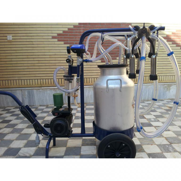 شیردوش 2واحدی سیار مدلR.S