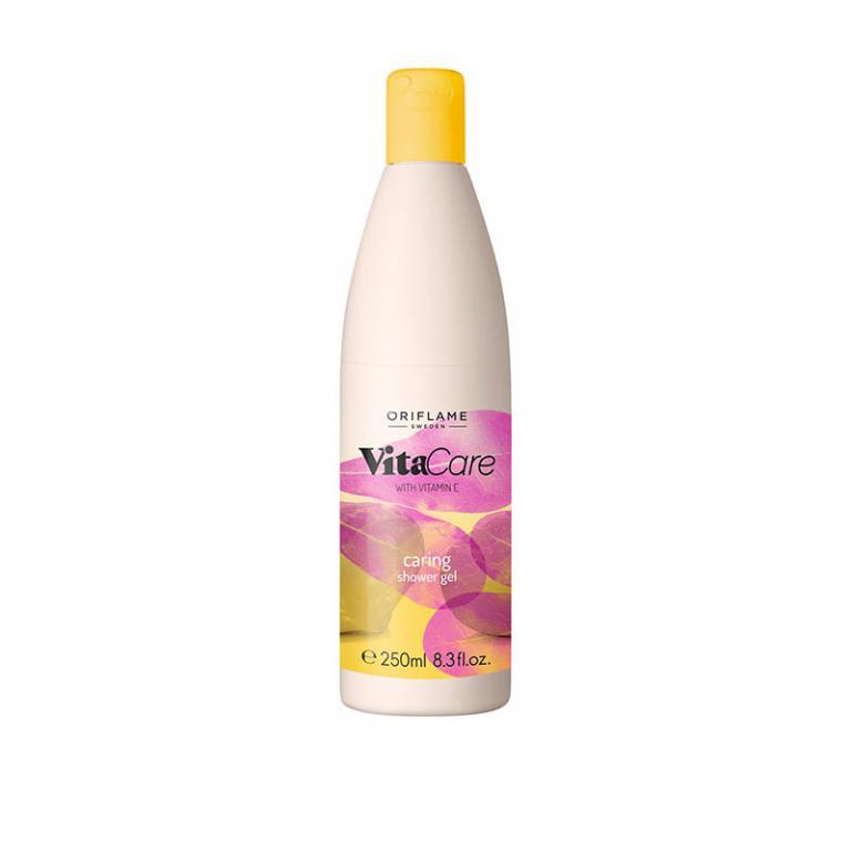 شاور ژل ویتاکیر عصاره فندوق شیرین ویتامین E اوریفلیم Shower