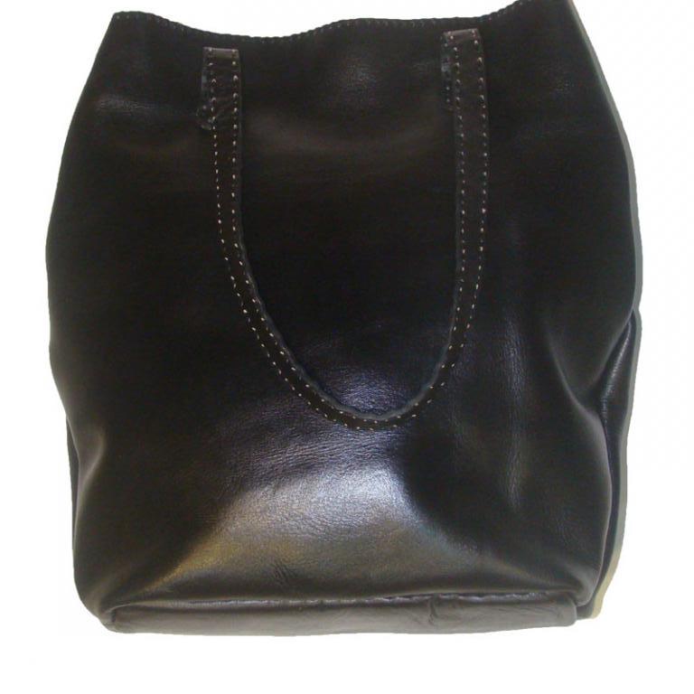 کیف چرم مشکی