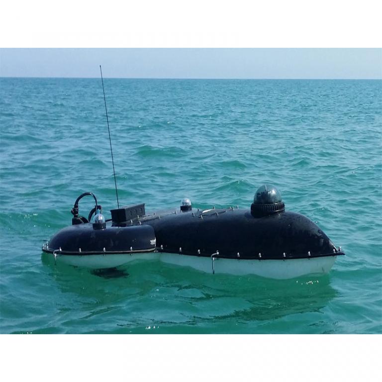 قایق هیدروگرافی و غریق گیر کیکاتن