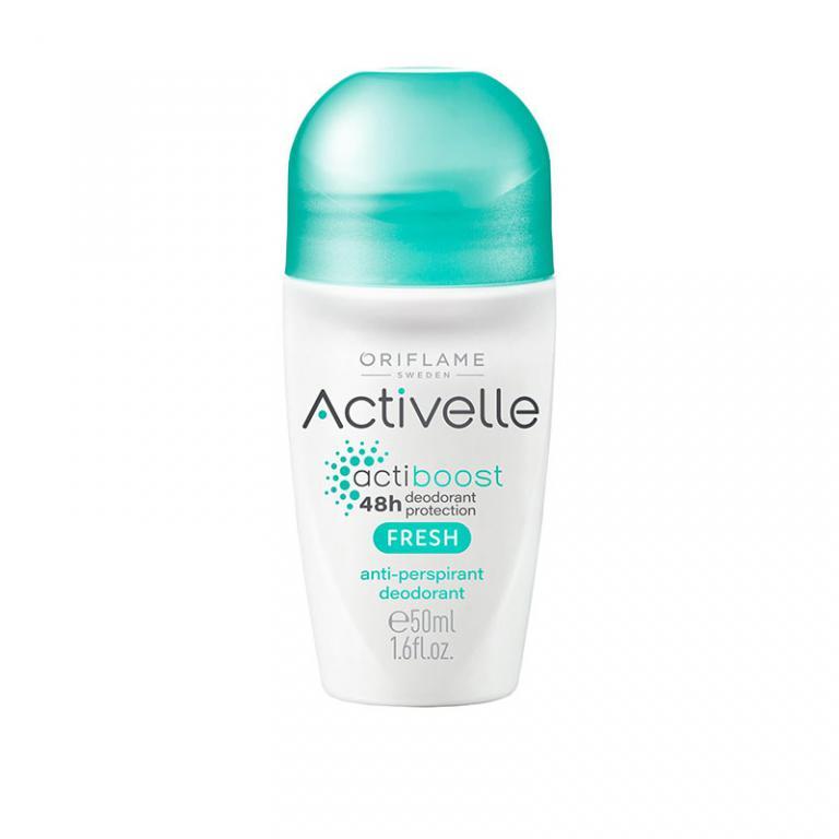 مام دئودورانت رولی ضد تعریق اکتیوله اوریفلیم 48 ساعته با بوی